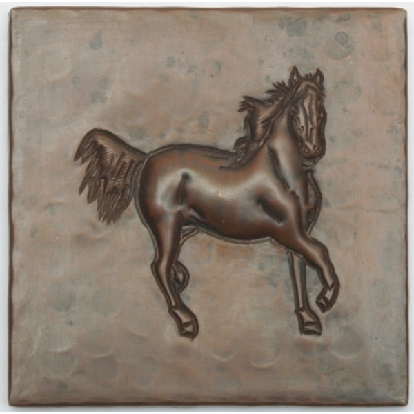 Running Horse Copper Tile by Pure Spa Copper Elements