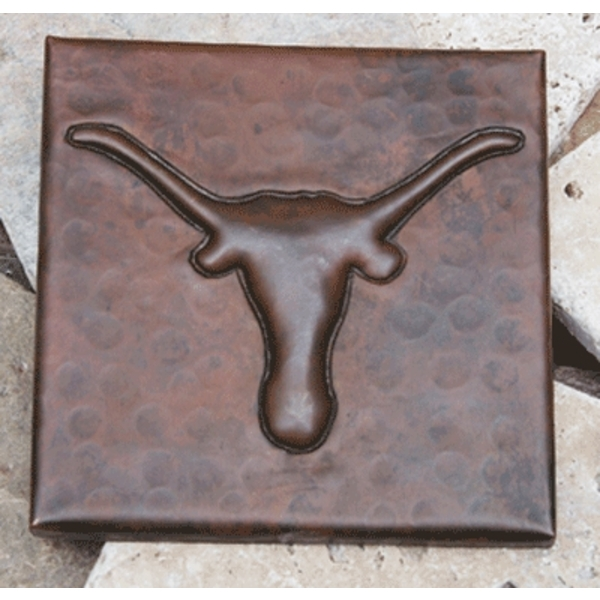 Longhorn Copper Tile by Pure Spa Copper Elements