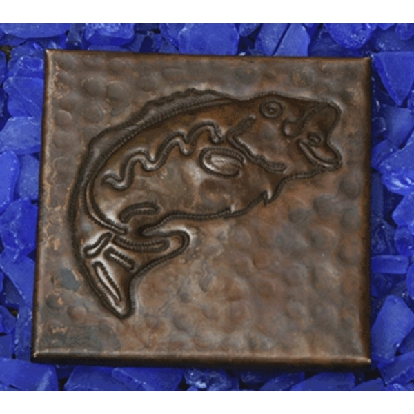 Fish Copper Tile by Pure Spa Copper Elements