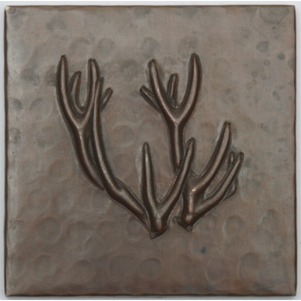 Deer Antlers Copper Tile by Pure Spa Copper Elements