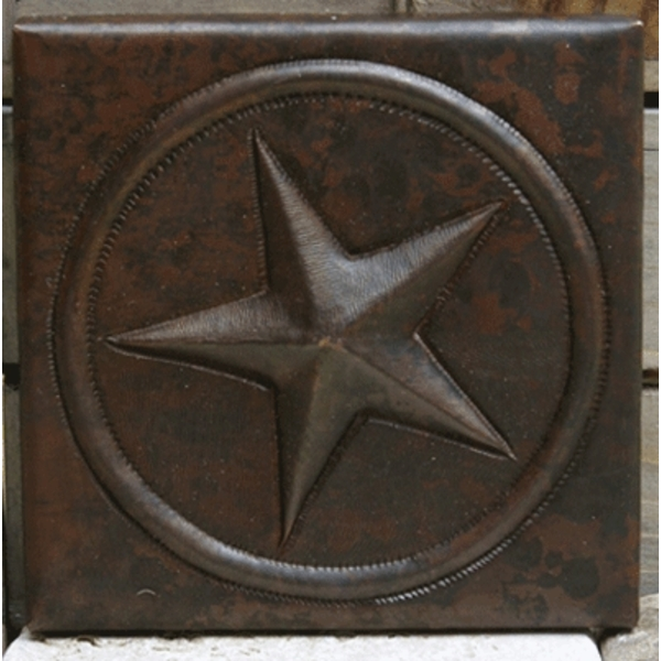 Texas Star Copper Tiles by Pure Spa Copper Elements