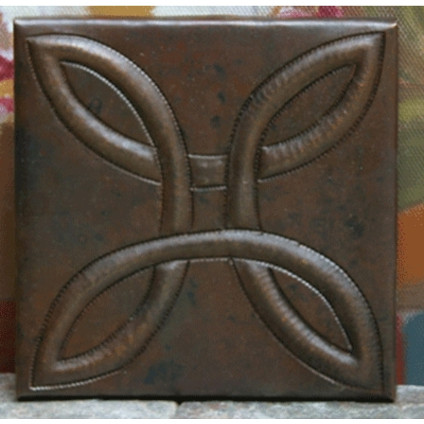 Arts and Crafts Copper Tiles by Pure Spa Copper Elements