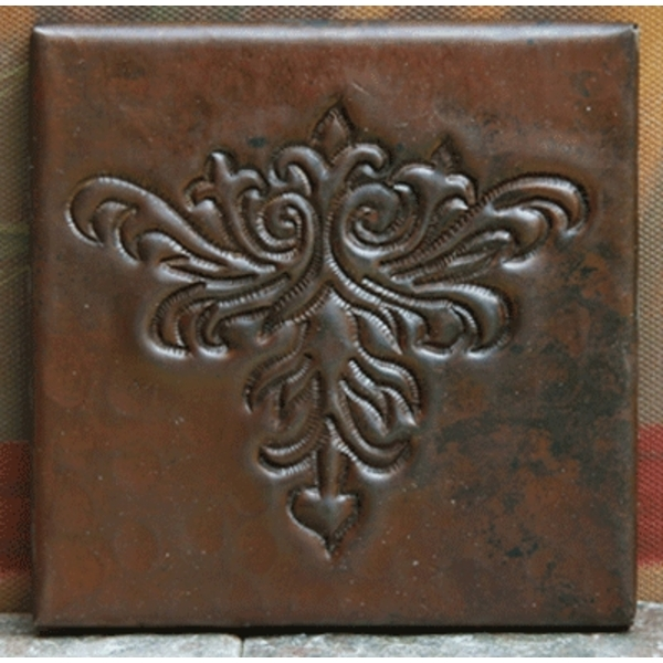 Arts & Crafts Copper Tile by Pure Spa Copper Elements