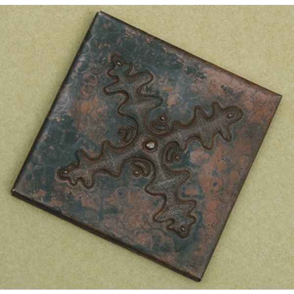 Four Point Star Copper Tiles by Pure Spa Copper Elements