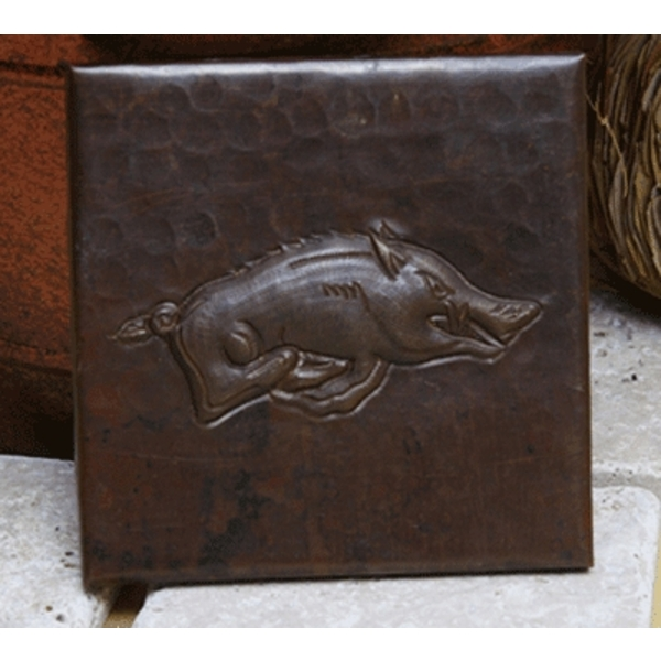 Wild Boar Copper Tiles by Pure Spa Copper Elements