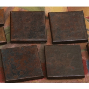 "2""x 2"" Copper Accent Tiles by Pure Spa Copper Elements"