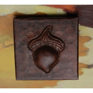2x2 Acorn Tile by Pure Spa Copper Elements