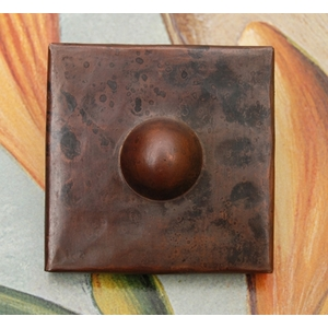 2x2 Button Tile by Pure Spa Copper Elements