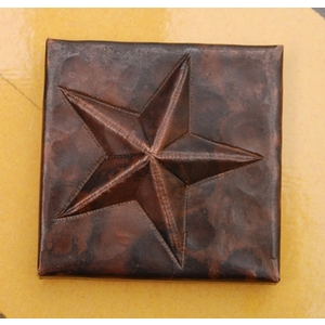 2x2 Star Tile by Pure Spa Copper Elements