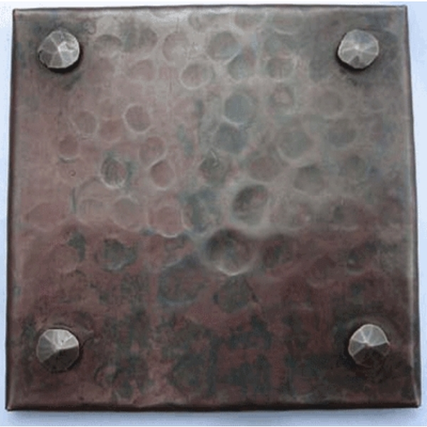Copper Rivit Tile by Pure Spa Copper Elements