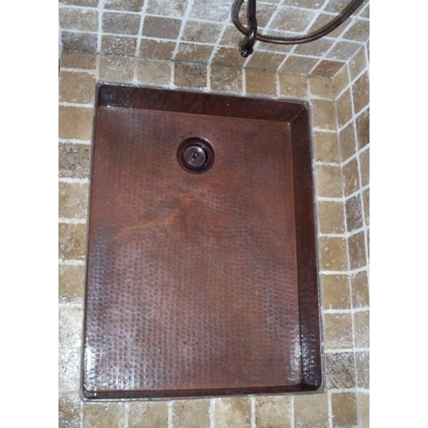 Mud Room Sink by Pure Spa Copper Elements