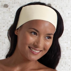 Headband - Microfiber with Velcro - Blend Ecru (MHB2000C)
