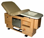 Golden Touch All-In-One Spa Table with Built-In Pedicure Tub by TouchAmerica