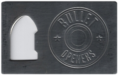 Bullet Beer Bottle Cap Opener - Polished
