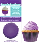 Bakery Quality Cupcake Baking Cups -  Plum (32 pieces)