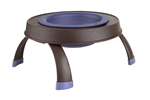 Popware for Pets Collapsible/Elevated Single Pet Bowl, Small