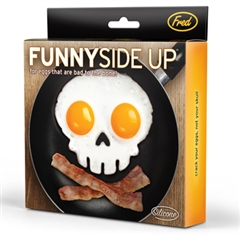FUNNY SIDE UP/SKULL Egg Corral (by Fred & Friends)