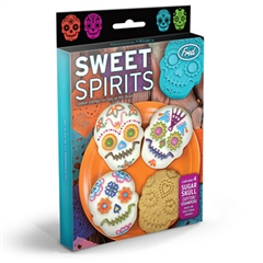 SWEET SPIRITS Cookie Cutters - Day of the Dead (box of 4)