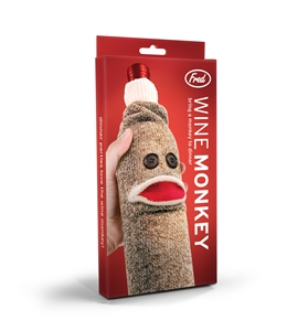 Wine Monkey Bottle Caddy by Fred & Friends
