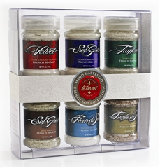 Le Tresor - French Salt Collection - Grey Sea Salt Set