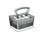 039790-000 Silverware basket
