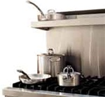 "VIKING B36HS24SS SEALED BURNER 36""W/24D RNG. HIGH SHELF"