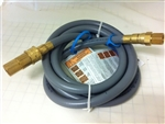 GSH12  12' Natural Gas Supply Hose With Quick Disconnect