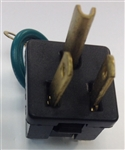 PE070197-Three Prong Male Plug