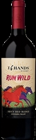 "[TWO-PACK COMBO: Buy One (1) Bottle, Get 2nd Bottle for 50% OFF] 14 Hands ""Run Wild"" Red Blend 2016 (Columbia Valley, Washington)"