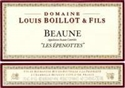 "Domaine Louis Boillot Beaune ""Epenotes"" 1er cru 2014 (Burgundy, France)"
