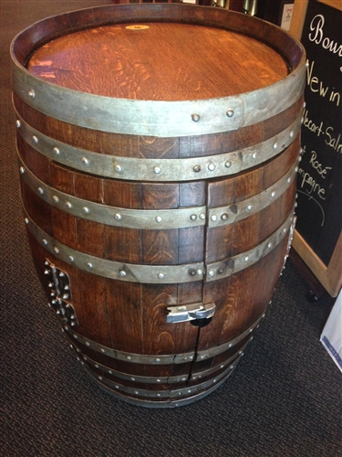 Rewined Designs Bar Barrel Wine Furniture