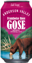"Anderson Valley Brewing Company ""Framboise Rose"" Gose Beer (6-Pack Cans)"