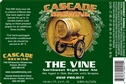 "Cascade Brewing ""The Vine"" 2012 Project Barrel Aged Sour Ale (750ml)"
