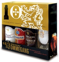 Ommegang Sampler Gift Set with Belgian Glass (3-PACK)