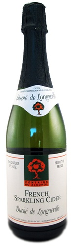 duche de longueville french sparkling cider non alcoholic normandy france