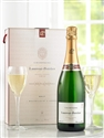 Laurent Perrier Brut Champagne N.V. [Gift Pack With Two Flutes] (Champagne, France) - [W&S 91] [RP 90] [WS 90] [WE 90] [ST 90] [WN 90]