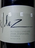 "Valdez ""Rockpile Botticelli Vineyard"" Zinfandel 2008 (Dry Creek Valley, Sonoma County, California)"