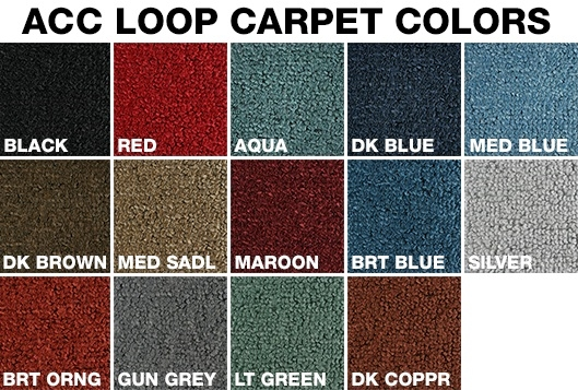 carpet for your tri five 1957 chevy hardtop 4 door from woody 39 s hot rodz. Black Bedroom Furniture Sets. Home Design Ideas