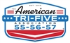 American Tri-Five Association Official Metal Shop Sign