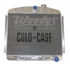 Cold Case 55-56 Chevy Radiator - Front 6 Cyl Mount (OS)