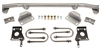 CPP 1955-57 Rear End Conversion  Seamed Or Seamless Frame Kit