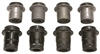 CPP 1955-57 Chevy Control Arms Bushings Rubber