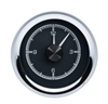 1955-56 Chevy Car HDX Style Clock, Black Face
