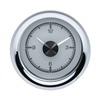 1955-56 Chevy Car HDX Style Clock, Silver Face