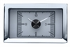 1957 Chevy Car HDX Style Clock, Silver Face