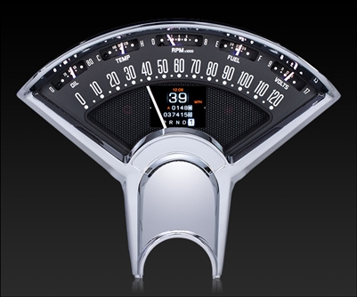 1955-56 Chevy Car RTX Gauges