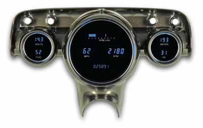 57 Chevy VFD instrument system w/Blue and Teal Lenses