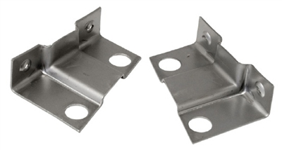 1955-56 Chevy Fender Support to Cowl Brackets, Pair