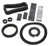 Danchuk 55-56 Heater seal kit, deluxe