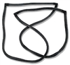 Danchuk 1955-57 Chevy Seal, Rear Quarter Glass(Nom); Pr